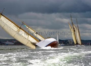 Classic Week 2014 - Kiel - Peter von Seestermühe und Heti 2