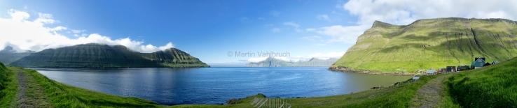 Eiduvik - Funningsfjoerdur Panorama