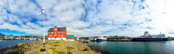 Torshavn - Tinganes und Hafen