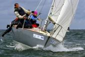 Kieler Woche 2013  J 24  -  Erik Jeuring & Crew