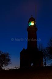 Kiel - Leuchtturm Holtenau bei Nacht