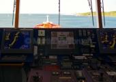 Kiel - Fahrstand auf de Kommandobrücke