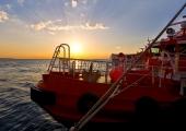 Kiel - Lotsenboot am Leuchtturm Kiel 2