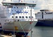Kiel - Color Line und Stena Line