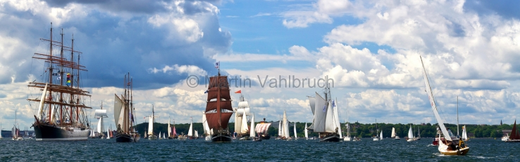 Panorama Kiel - Windjammerparade 1