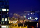 Kiel - Stena Terminal bei Nacht 3