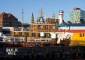 Kiel - Schiffe in der Innenförde