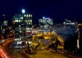 Kiel - Stena Terminal bei Nacht