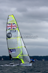 Kieler Woche 2015 - 49er - Chris Taylor & Sam Batten - 1