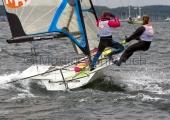 Kieler Woche 2015 - 49er FX - Cecile Janmaat & Charlotte Heijstek - 3