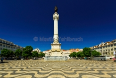 Lissabon - Praca Dom Pedro 1