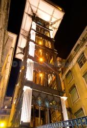Lissabon - Elevador Santa Justa 2