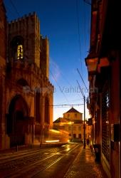 Lissabon - bei der Kathedrale