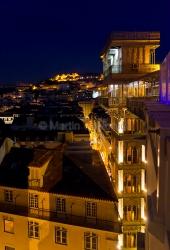 Lissabon - Elevador Santa Justa 4