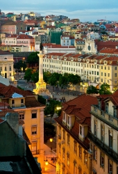 Lissabon - Praca Dom Pedro 5