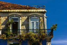 Lissabon - Balkon