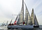 MAIOR - Regatta 2014   -   Mandalay DEN 437-  William Friis-Møller - IMX-40, und Joki  DEN 6222 -  John Jensen - ELAN 410 -  3
