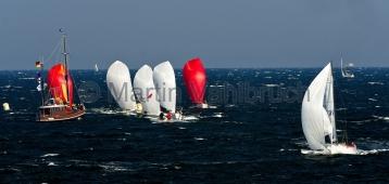 Maior Regatta 2015 - Zieleinlauf J 70 / J 80 / Melges 24 - 3