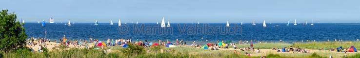 Panorama Kiel - Falckensteiner Strand