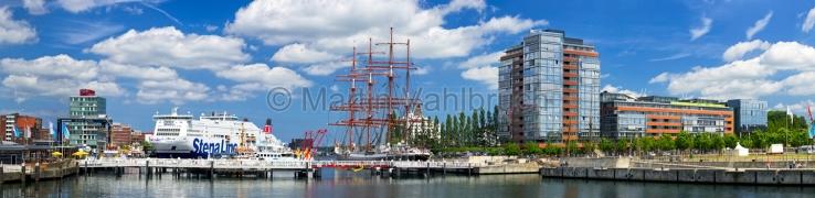 Panorama Kiel - an der Hörn
