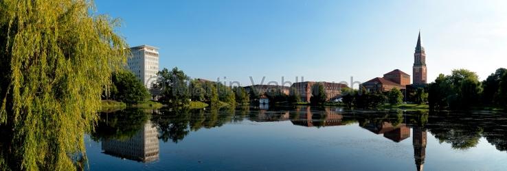 Panorama Kiel - am kleinen Kiel
