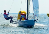 Young Europeans Sailing Kiel 2014 - 14-footer- 3