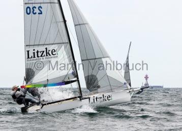 Young Europeans Sailing Kiel 2014 - 14-footer- 1
