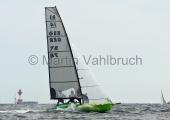 Young Europeans Sailing Kiel 2014 - 14-footer- 2