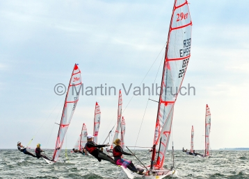 Young Europeans Sailing Kiel 2014 - 29er Class 6