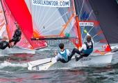 Young Europeans Sailing Kiel 2014 - 29er Class 10