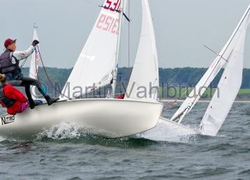Young Europeans Sailing Kiel 2014 - 420 Class 5