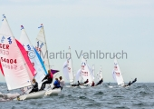 Young Europeans Sailing Kiel 2014 - 420 Class 9