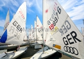 Young Europeans Sailing Kiel 2014 - Laser an der Slip 6