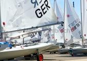 Young Europeans Sailing Kiel 2014 - Laser an der Slip 5