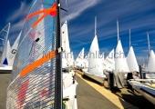 Young Europeans Sailing Kiel 2014 - Laser an der Slip 1