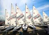 Young Europeans Sailing Kiel 2014 - Laser an der Slip 2