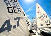 Young Europeans Sailing Kiel 2014 - Laser an der Slip 4