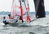 Young Europeans Sailing Kiel 2014 - 29er Class 16
