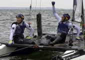 Red Bull Foiling Generation Kiel 2016 - Gesamtsieger Jasper Steffens und Tom Lennart Brauckmann 1