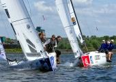 Segel-Bundesliga Kiel 2015 - Münchner Yacht-Club und Flensburger Segel-Club
