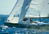 Kieler Woche 2012  Starboot - Reinhard Schmidt, MYC, und Niels Hentschel NRV / SLSV