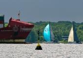 Kieler Woche 2014 - Welcome Race - Traffic