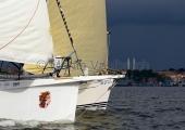 Kieler Woche 2014 - Welcome Race - Calypso - Gewitterstimmung