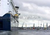 Kieler Woche 2014 - Welcome Race - Color Line