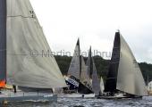Kieler Woche 2014 - Welcome Race - Platoon - One4all - Silva Neo beim Start