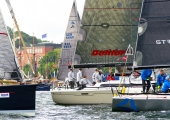 Kieler Woche 2014 - Welcome Race - Sporthotel - Leu - Toesen beim Start 2