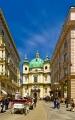 Wien - Hasbsburgergasse und Peterskirche