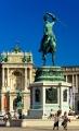 Wien - Heldenplatz - Reiterstandbild Erzherzog Karl