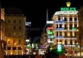 Wien - Kärntner Strasse am Abend