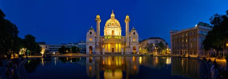 Wien - Karlskirche 1